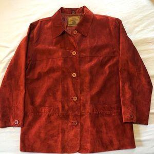 St. John's Bay Suede Jacket